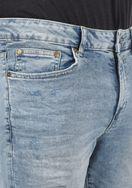 Solid Herren Jeans Shorts Kurze Denim Hose 21104063