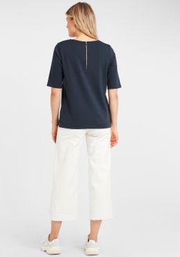 b.young Damen Bluse T-Shirt Kurzarm Shirt mit Print 20805462 – Bild 8