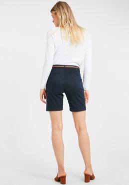 b.young Damen Chino Shorts Bermuda Kurze Hose 20805588 mit Gürtel – Bild 3