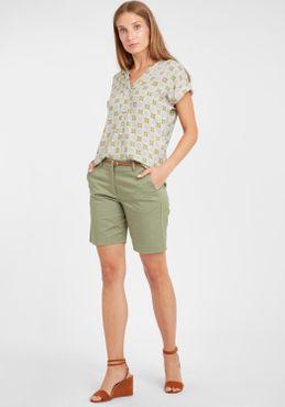 b.young Damen Chino Shorts Bermuda Kurze Hose 20805588 mit Gürtel – Bild 8