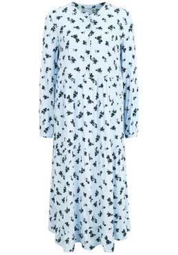 b.young Damen Kleid Blusenkleid Sommerkleid 20807855 mit Blumen-Muster – Bild 24