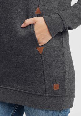 OXMO Vicky Hood Long Damen Kapuzenpullover Hoodie Pullover mit Kapuze – Bild 23