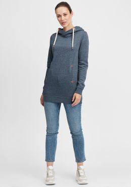 OXMO Vicky Hood Long Damen Kapuzenpullover Hoodie Pullover mit Kapuze – Bild 8