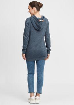 OXMO Vicky Hood Long Damen Kapuzenpullover Hoodie Pullover mit Kapuze – Bild 9