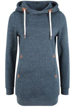 OXMO Vicky Hood Long Damen Kapuzenpullover Hoodie Pullover mit Kapuze – Bild 12