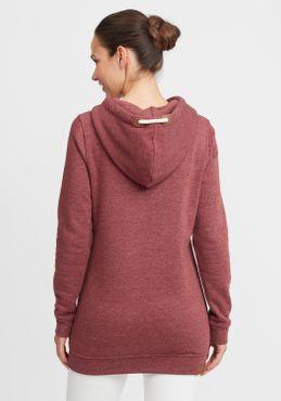 OXMO Vicky Hood Long Damen Kapuzenpullover Hoodie Pullover mit Kapuze – Bild 15