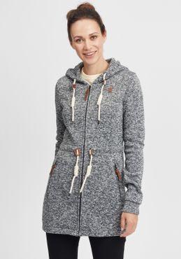 OXMO Thora Damen Fleecejacke Sweatjacke Jacke – Bild 1