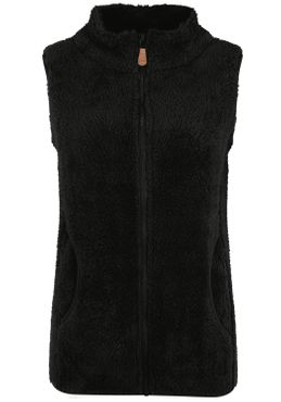 OXMO Theri Damen Weste Fleece Outdoor Weste – Bild 18