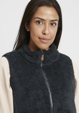 OXMO Theri Damen Weste Fleece Outdoor Weste – Bild 10