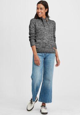 OXMO Philla Damen Strickpullover Grobstrick Pullover Mit Kapuze – Bild 20