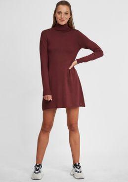 OXMO Winala Damen Strickkleid Feinstrickkleid Kleid – Bild 2