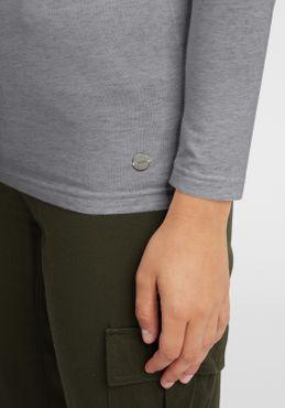 OXMO Rosa Damen Longsleeve Langarmshirt Shirt – Bild 11