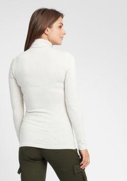 OXMO Rosa Damen Longsleeve Langarmshirt Shirt – Bild 3