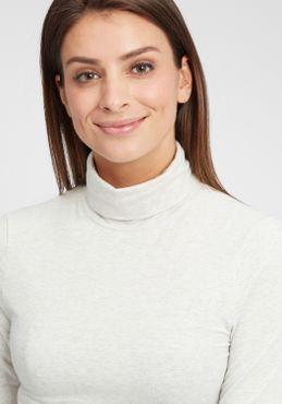 OXMO Rosa Damen Longsleeve Langarmshirt Shirt – Bild 4