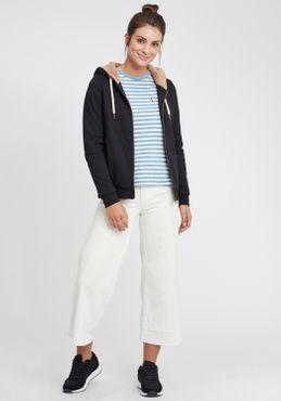 OXMO Vicky Pile Zip Damen Sweatjacke Cardigan Sweatshirtjacke Mit Teddy-Futter – Bild 14