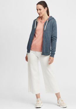 OXMO Vicky Pile Zip Damen Sweatjacke Cardigan Sweatshirtjacke Mit Teddy-Futter – Bild 8