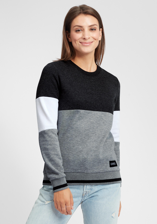 OXMO Omaya Damen Sweatshirt Pullover Sweater