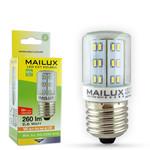 MAILUX KON11677 LED Lampe Kolben klar E27 2.6W 260lm 3000K ersetzt ca. 25 Watt