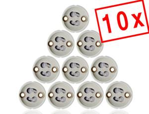 MAILUX GU10 Fassung Sockel für LED und Halogen (1 Stück) – Bild 4