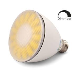 LED Energiesparlampe Viribright Par 30 warmweiß dimmbar 10W E27 ersetzt ca. 75W – Bild 1
