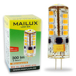 MAILUX LED G4S11059 | G4 | Stift | 3W | 300lm | 3000K | 27 SMD | dimmbar | warmweiss