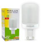 MAILUX G9 LED Kolben matt 3W 250lm ersetzt ca. 25W 2700K 270°P 001