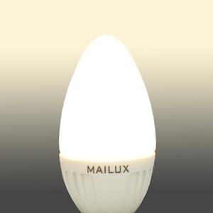 MAILUX E14 2,2 Watt LED Kerze matt 10 Stck. – Bild 6