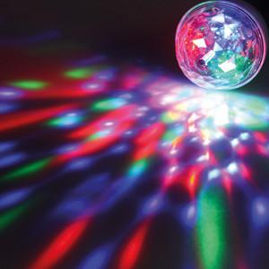 MAILUX LKC15125 LED Rotationslampe | Effektlicht | 3W | 85-260V AC | Farbwechsel | tolle Effekte – Bild 3