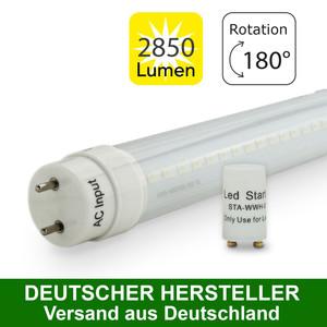 MAILUX MLXTM3256 T8 LED Röhre 830 G13 150cm 32 Watt matt 6000 K – Bild 3