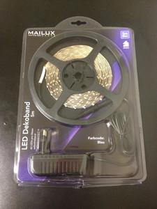 MAILUX LED Flex Band Set, Strip, Blau Blue Komplettset 5m, selbstklebend – Bild 2