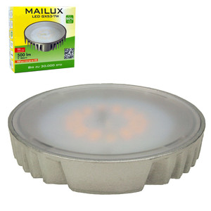 MAILUX LED GX53-7W 7 Watt 500 lumen warmweiß 2700K