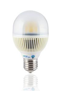 VIRIBRIGHT E27 5 Watt LED Glühbirne Bulb 300 Lumen (~40 Watt Glühbirne) warmweiß 2800K OVP