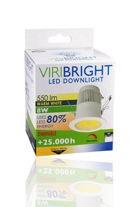 VIRIBRIGHT 8 Watt LED Downlight 550 Lumen – Bild 3