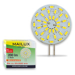 MAILUX LED G4S10472 | G4 | Rundform | 2W | 200lm | 3000K | 36 SMD | warmweiss