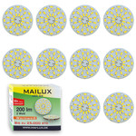 10x MAILUX LED G4S15088 | G4 | Rundform | 2W | 200lm | 3000K | 36 SMD | warmweiss 001