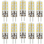 10x MAILUX LED G4M12148 | G4 | Stift | 1,5W | 120lm | 3000K | 24 SMD | warmweiss