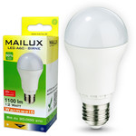 MAILUX E27 12 Watt LED Birne matt warmweiß 1100 Lumen 001