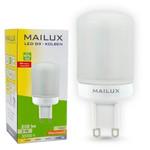 MAILUX G9N19987 LED-Lampe G9 LED Kolben matt 3W 250lm ersetzt ca. 25W 2700K 270° 001