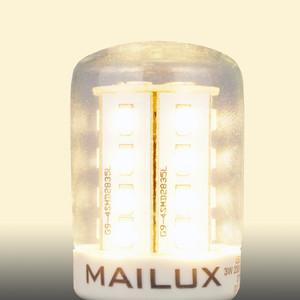 MAILUX KON11684 LED Lampe Kolben klar 3W E14 280lm warmweiss 2700K ersetzt 30W – Bild 5