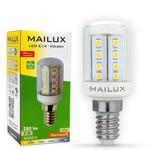 MAILUX KON11684 LED Lampe Kolben klar 3W E14 280lm warmweiss 2700K ersetzt 30W