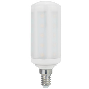MAILUX LED Kolben 6W E14 480lm matt 2700K 270° ersetzt ca. 50W – Bild 2