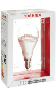 10x Toshiba LDGC0627CE4EUC LED E14 Golfbulb 6 W, clear – Bild 2