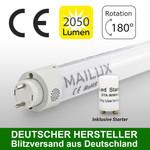 MAILUX MLXTM2253 T8 LED Röhre 830 G13 150cm 22W Matt 3000 K