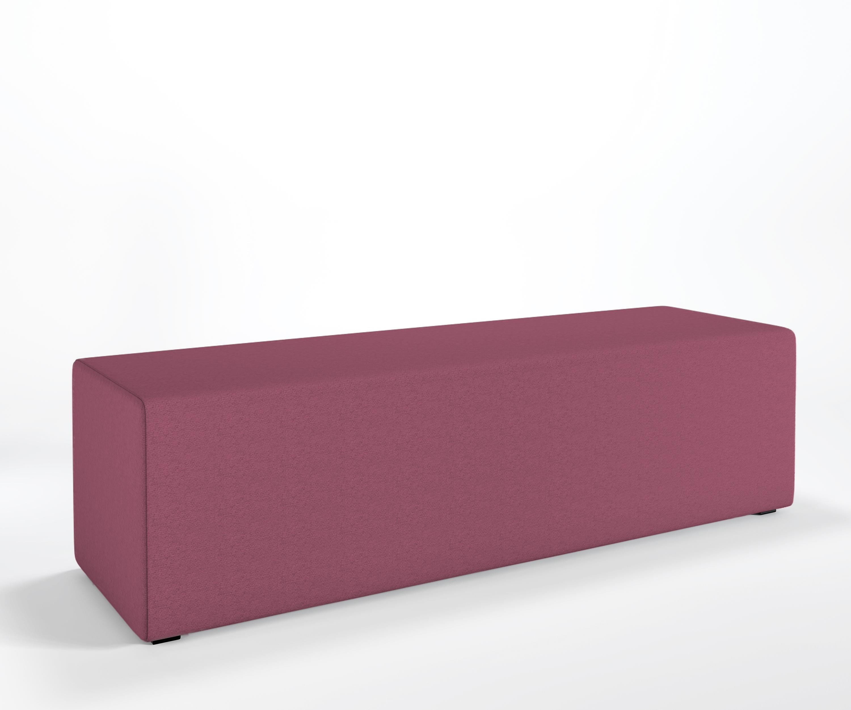 Panca Imbottita Colorata : Designer hockerbank mia prism panchina imbottita pouf per sedersi