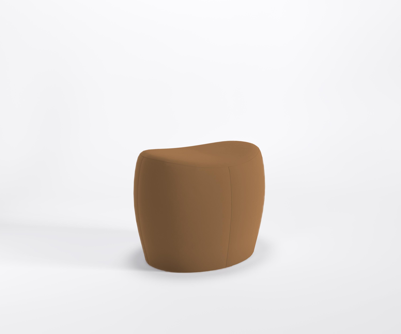 Designer pouf per sedersi solo lounge sgabello poggiapiedi fodera