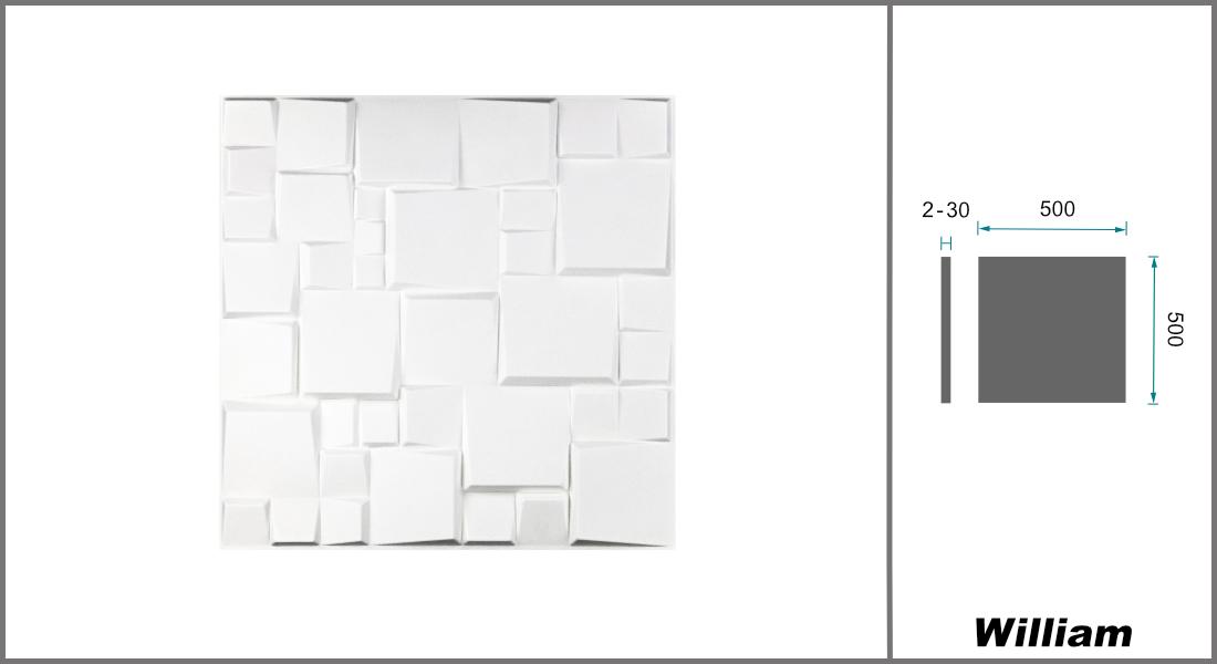 3D Elite Panels Platten Paneele Natur Bambus Hexim