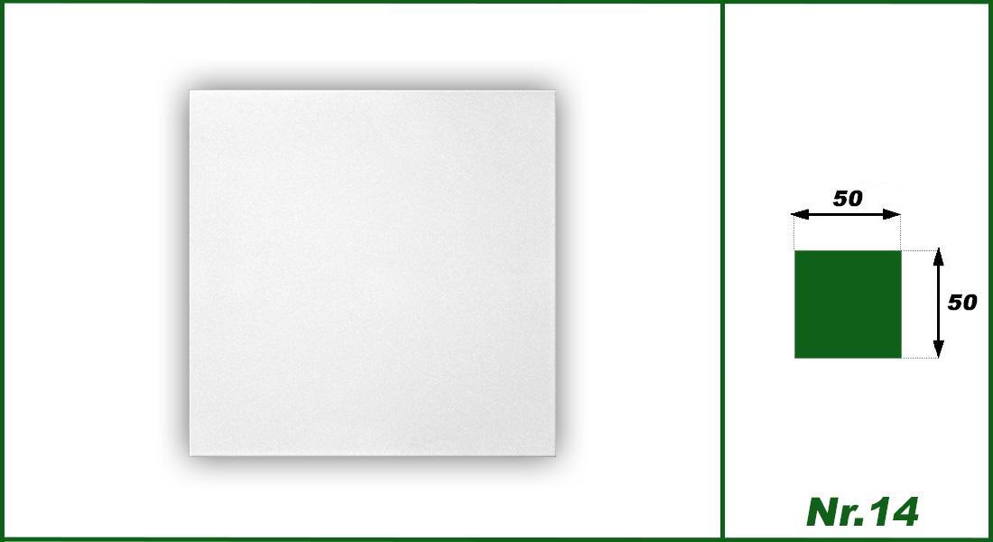 1 qm | Deckenplatten | XPS | formfest | Hexim | 50x50cm | Nr.14