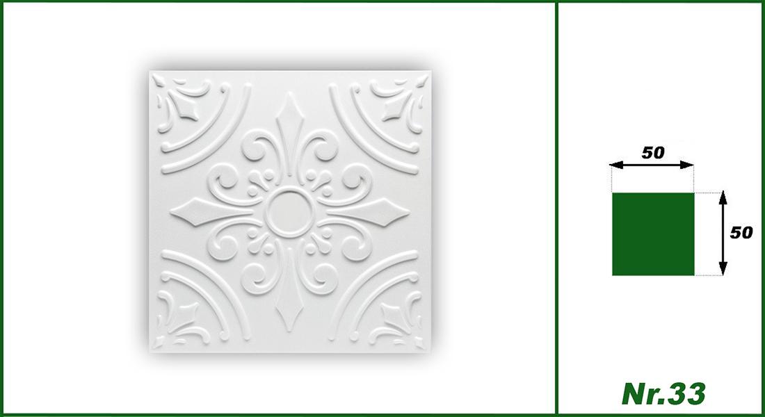 Hexim Deckenplatten Nr.33