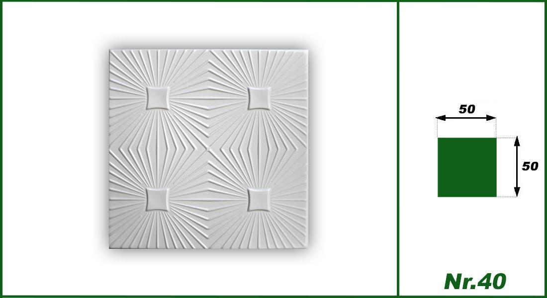 Hexim Deckenplatten Nr.40