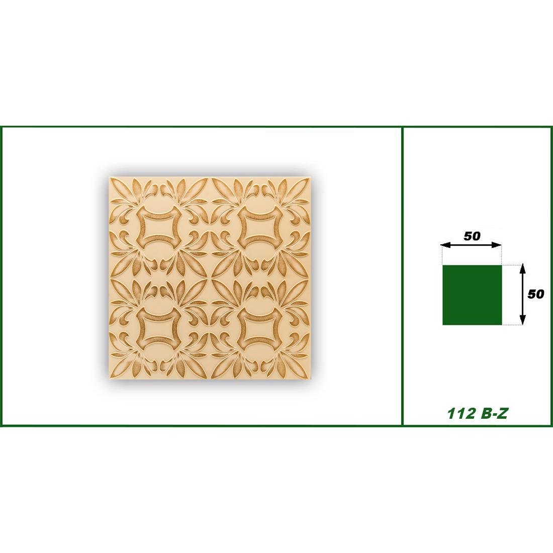 1 qm | Deckenplatten | XPS | formfest | Hexim | 50x50cm | Nr.112